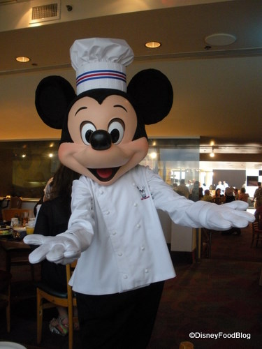 Chef Mickeys the disney food blog