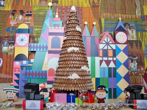 Disney's Contemporary Resort Gingerbread Tree