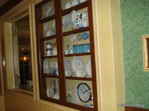 Main Street Bakery China Cabinet