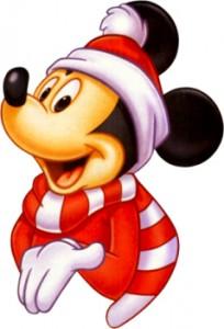 christmas mickey mouse