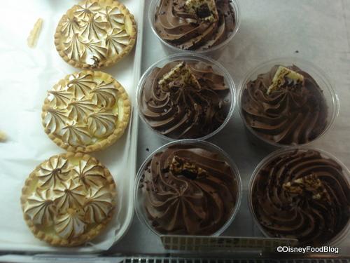 Lemon Tarts and Chocolate Mousse