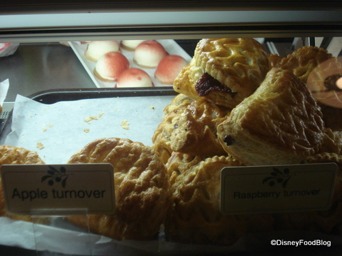 Apple and Raspberry Turnovers