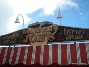 Boardwalk Joe's was all about coffee!