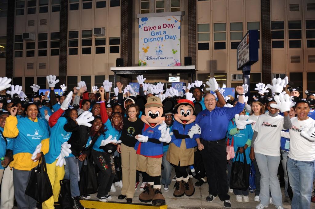 "Disney Parks announces ""Give a Day, Get a Disney Day"" program"