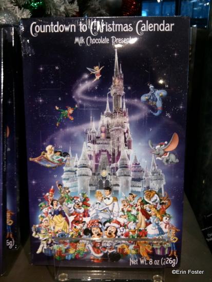 Disney Chocolate Advent Calendar Front