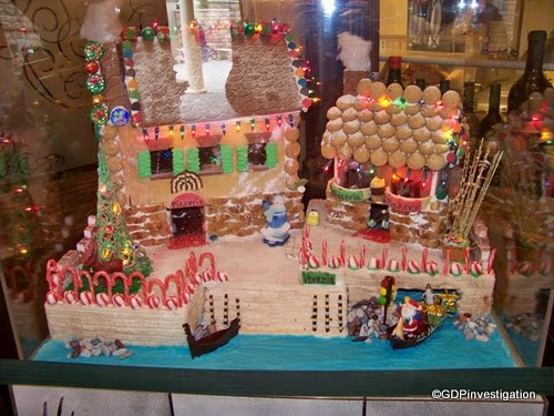 Italy's Gingerbread Display
