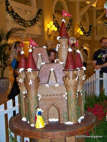 Beach Club Gingerbread Castle