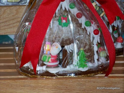Pre-Made Gingerbread House at Boardwalk Bakery
