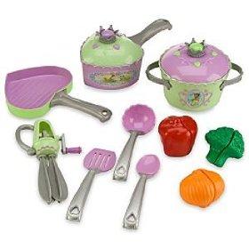 princess tiana cooking set