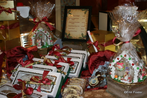 Items for Purchase at Beach Club Gingerbread Center