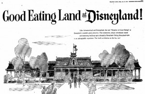 An intro to Eating Land at Disneyland