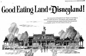 An intro to Eating Land at Disneyland