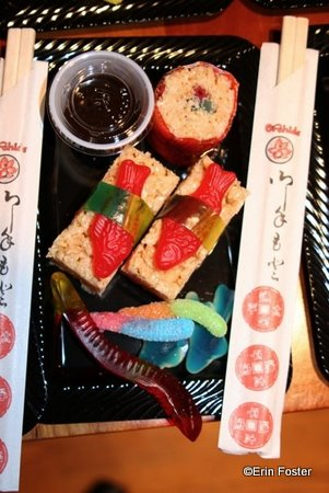 Candy Sushi Inspired by California Grill