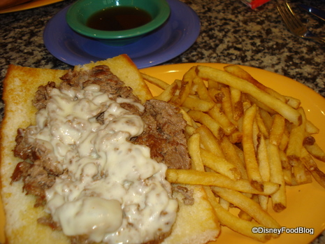 Beef Sandwich Au Jus