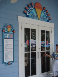 Beaches and Cream Entrance