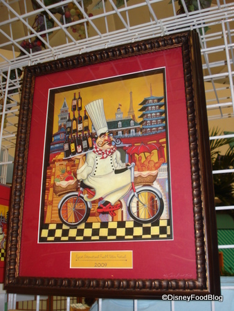 Official 2009 Epcot Food & Wine Festival Artwork