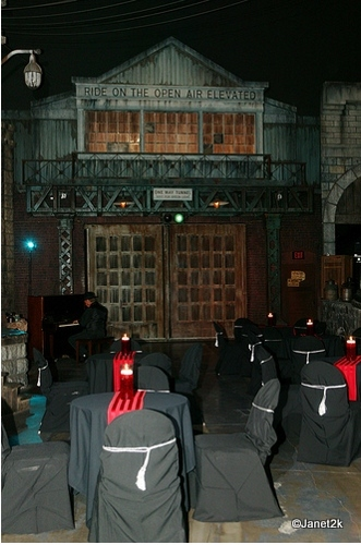 Tables in the Gangster Set