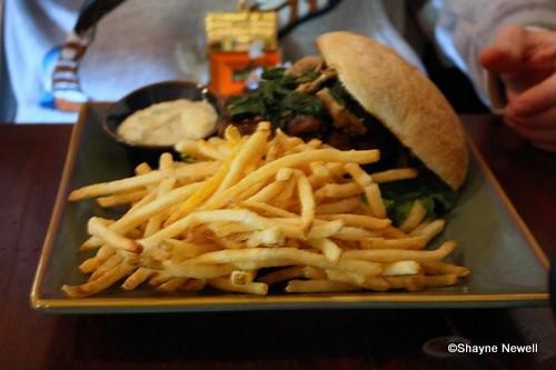 Kobe Beef Burger and Fries