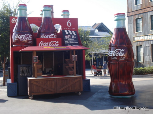 coke bottles in disney's hollywood studios