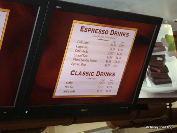 Ghirardelli Classic and Espresso Drinks
