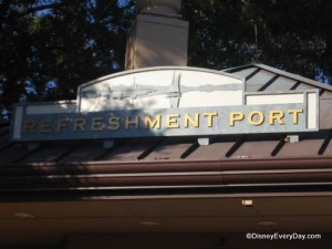Epcot Refreshment Port