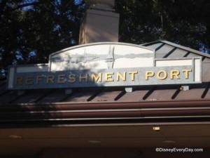 Epcot Refreshment Port