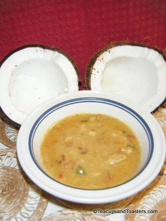 Boma-inspired Coconut Curry Soup
