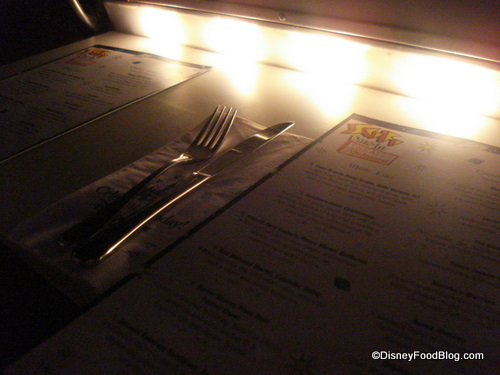 Menu by Dashboard Light