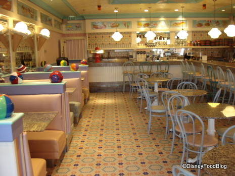 Beaches and Cream Dining Room
