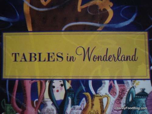 Nice Tables In Wonderland Membership Card
