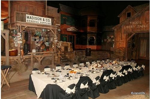 Table in the Western Scene