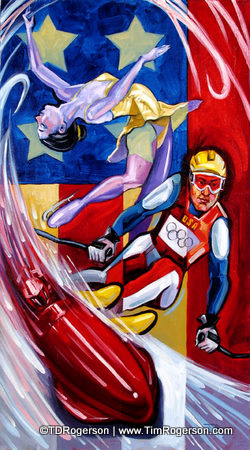Titled: Winter Olympics 06 -- From the Gaming Collection