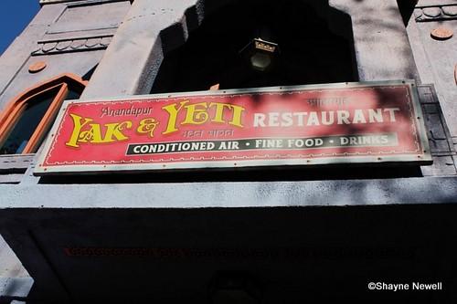 Yak and Yeti restaurant