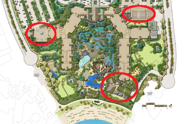 My guesses for where the restaurants in Aulani might end up