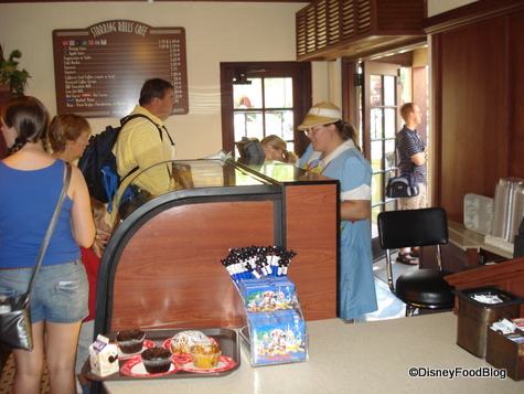 Starring Rolls Bakery Registers and Check-Out area