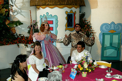 Glinda and Lars Entertain the Bride and Groom