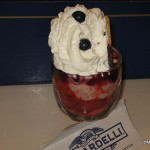Strawberry Blueberry Sundae Ghirardelli
