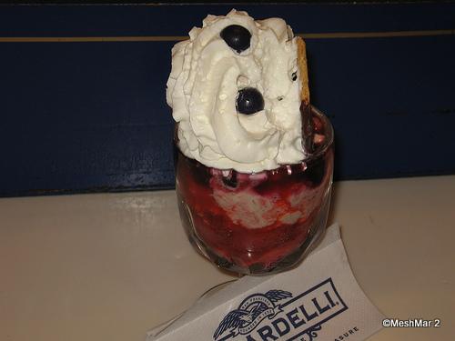 Strawberry Blueberry Sundae Ghirardelli