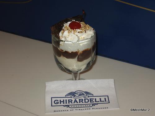 Ghirardelli Brownie Sundae