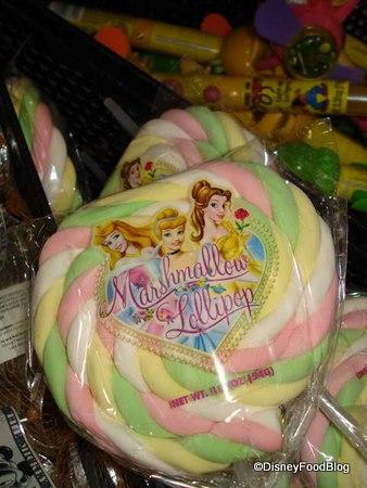 Marshmallow Princess Pops