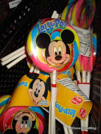 Small Mickey Lollipops