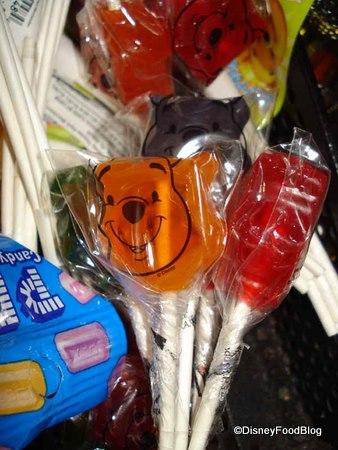 Pooh Lollipops
