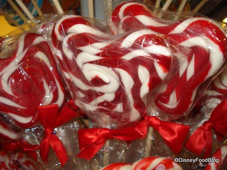 Mickey-shaped lollipops disney