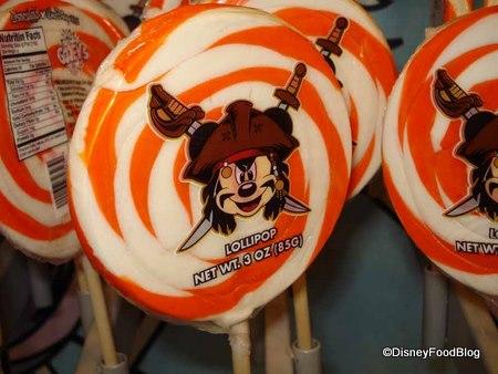 Pirate Mickey Lollipop Disney World