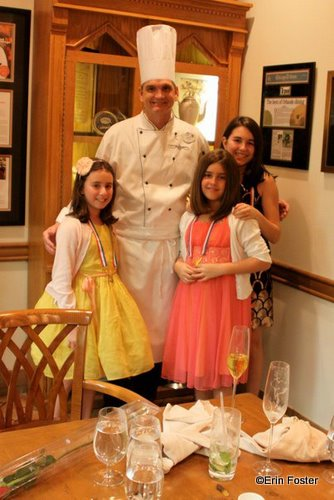 The Girls with Chef Scott Hunnel