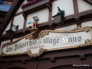 Pinocchio\'s Village Haus   the disney food blog