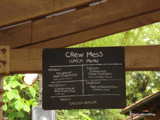 Crew Mess