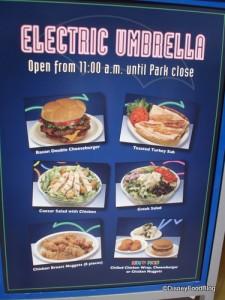 Electric Umbrella in Epcot