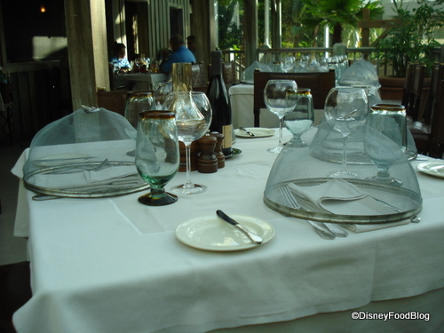 Table Settings at Old Hickory Steakhouse