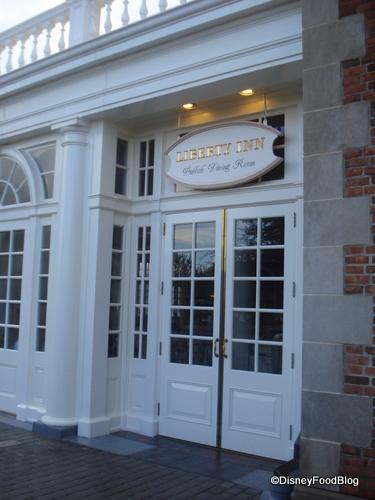 Entrance to the Liberty Inn